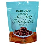 Trader Joes Chocolate Covered Sea Salt Butterscotch Caramels