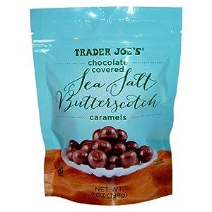 Trader Joe's Chocolate Covered Sea Salt Butterscotch Caramels 7oz