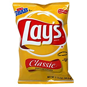 Lay's Potato Chips Regular, 1.5-Ounce Large Single Serve Bags (Pack of 64) at Sears.com
