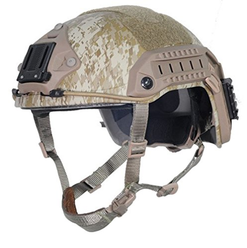 OSdream Maritime Helmet Navy Seals Tactical Helmet Army Fan Helmet ABS for Airsoft Paintball/ CS Games Helmet (L/XL) (Navy Seals Airsoft compare prices)