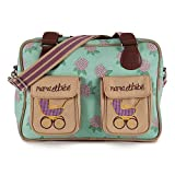 Pink Lining Mama et Bebe Messenger Baby Changing Nappy Bag - Hydrangea
