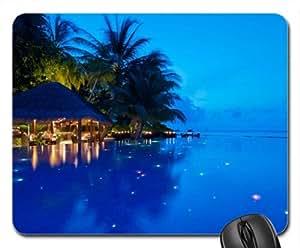 Amazon.com : Maldives Mouse Pad, Mousepad (Beaches Mouse Pad) : Office
