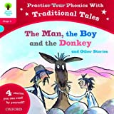 img - for Oxford Reading Tree: Level 4: Traditional Tales Phonics the Man, The Boy and the Donkey and Other Stories book / textbook / text book