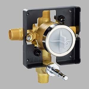 Delta Faucet R10300 Unws Multichoice Universal Valve Body With Push Button Diverter Not