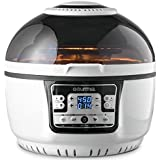 Gourmia GTA2500 Electric Digital Air Fryer Griller and Roaster with Optimized Calorie Reduction Technology