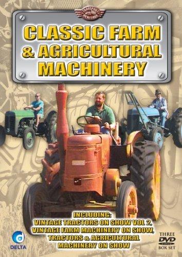 Classic Farm & Agricultural Machinery (3 X Dvd) [2007] [Edizione: Regno Unito]
