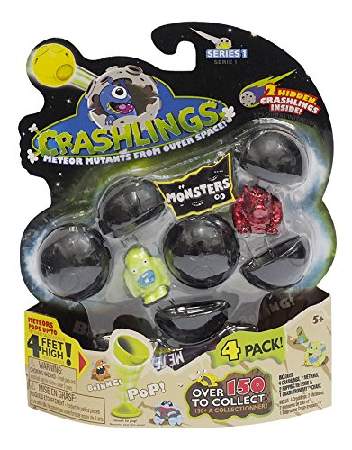 Crashlings Series 1 4 Pack- Monster - Random Selection - 1