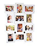 Empreus White 12 Photo Collage Frame