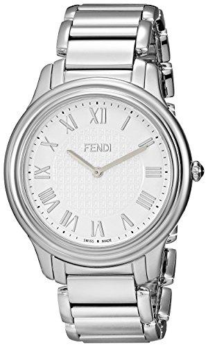 Fendi Classico Men's 40mm Silver Steel Bracelet & Case Quartz Watch F251014000