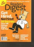 img - for Reader's Digest Large Print Magazine (Get hired not fired, April 2011) book / textbook / text book