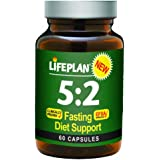 Lifeplan 5:2 Fasting Diet Support Capsules - Pack of 60 Capsules