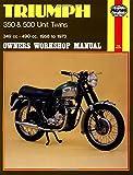 Triumph 350 & 500 Unit Twins, 1958-73 (Owners' Workshop Manual) (Haynes Repair Manuals)