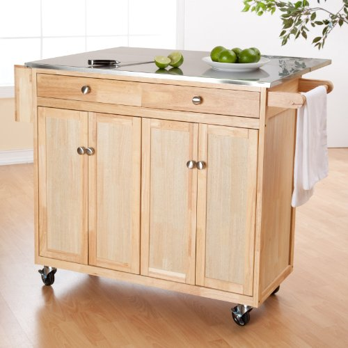 Cheap The Milano Kitchen Island with Changeable Feet and Knobs (GH13192)