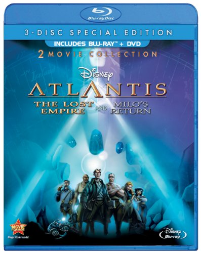 51K7xE4ADcL Atlantis: The Lost Empire / Atlantis: Milos Return: Two Movie Collection (Three Disc Blu ray / DVD Combo)
