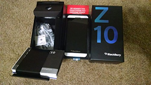 Blackberry Z10 Stl100-1 16Gb Unlocked Gsm Os 10 Smartphone - White