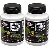 2 x ® Doff Portland Poudre d'hormones d'enracinement 75 g-Permet de racines sur les boutures et il favorise des racines