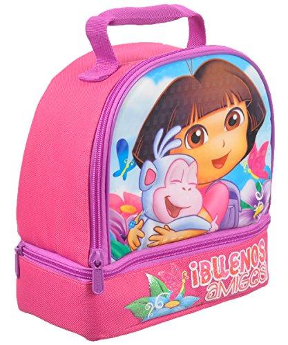 Nickelodeon Dora Dual Lunch Box Kit front-1001430