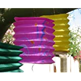 Chinese Paper Lanterns, pk of 12