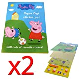 Peppa Pig's Reusable Sticker Pad (Pack of 2)