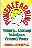 img - for Powerlearning: Memory and Learning Techniques for Personal Power book / textbook / text book
