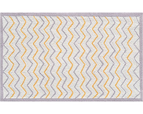 The Rug Market 71155B Handmade Rugs, Ziggy-Zaggy, Multicolor