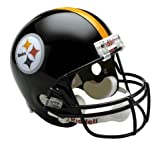 NFL Pittsburgh Steelers Deluxe Replica Football Helmet