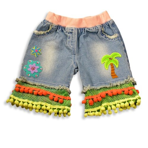 Banana Split by Hannah Banana - Infant Girls Denim Capris, Denim Blue, Multi - Buy Banana Split by Hannah Banana - Infant Girls Denim Capris, Denim Blue, Multi - Purchase Banana Split by Hannah Banana - Infant Girls Denim Capris, Denim Blue, Multi (BANANA SPLIT, BANANA SPLIT Apparel, BANANA SPLIT Toddler Girls Apparel, Apparel, Departments, Kids & Baby, Infants & Toddlers, Girls, Outerwear & Activewear)