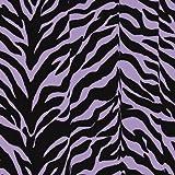 Karin Maki Zebra Shower Curtain, Lavender