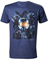 Halo - Master Chief Homme T-Shirt - Blue
