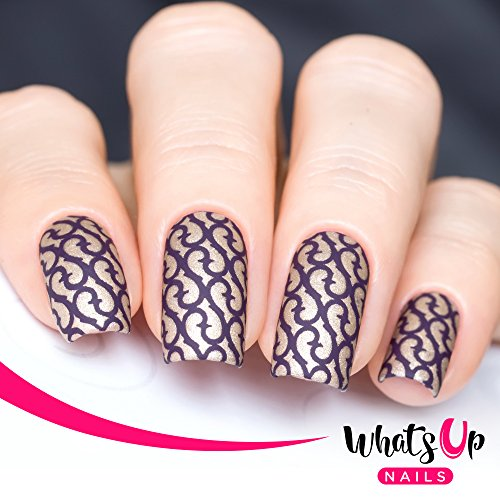 whats-up-nails-thorns-nail-stencils-stickers-vinyls-for-nail-art-design-2-sheets-24-stencils-total
