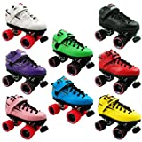 Sure Grip Rebel Leather Quad Roller Derby Speed Skates