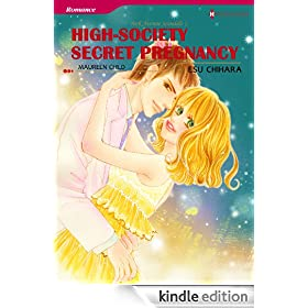 High-Society Secret Pregnancy - Park Avenue Scandals 1 (Harlequin comics)