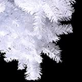5 Feet Tall Christmas Tree With Stand Holiday Season Indoor Outdoor White New