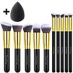 EmaxDesign 10+1 Pieces Makeup Brush S...