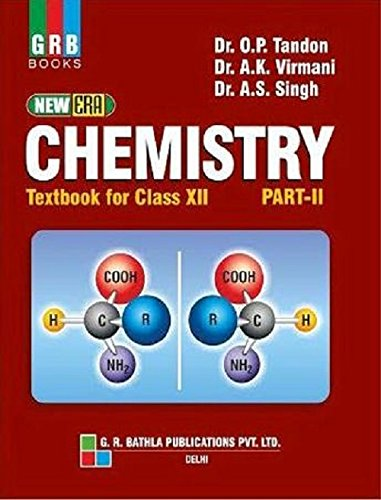 Chemistry Text Book for Class - 12 (Part - 2) (English) 7th  Edition price comparison at Flipkart, Amazon, Crossword, Uread, Bookadda, Landmark, Homeshop18