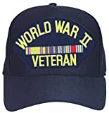 WW II Europe Veteran with Ribbons Ball Cap