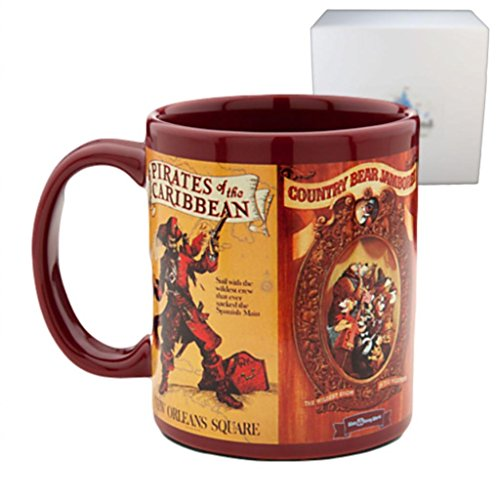 Disney Parks Attraction Poster Maroon Mug - Exclusive & Limited Availability
