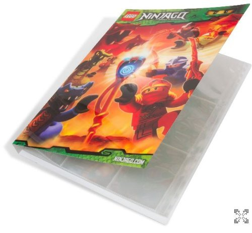 LEGO Ninjago Spinjitzu Card Collection Holder (Binder) - 1