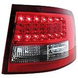 Dectane RA15LRCL LED R�ckleuchten Audi A6 Avant 4B 12.97-01.05 red/crystal