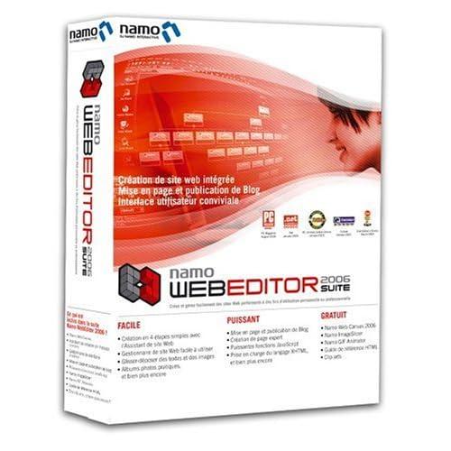 Namo webeditor 2006 suite скриншоты