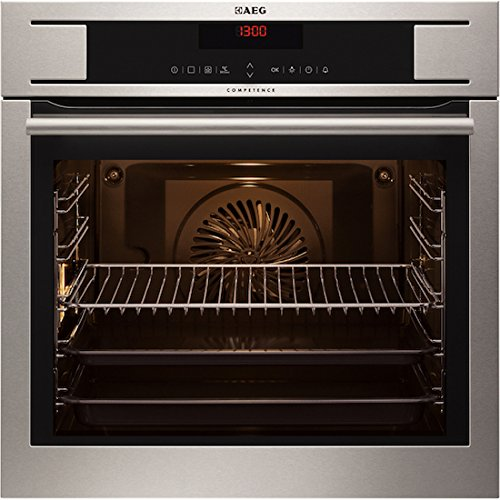 AEG BP730410KM MaxiKlasse Electric Built-in Stainless Steel with antifingerprint coating