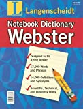 Langenscheidt Webster Notebook Dictionary