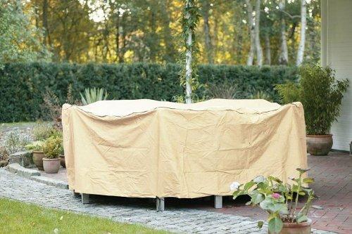 Videx 22174 Cover Tischgruppe rund 250 x 250 x 80 cm beige günstig kaufen