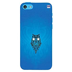 Blue Logo - Mobile Back Case Cover For Apple Iphone 5S