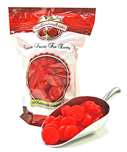 Ferrara Candy Ju Ju Coins (Cherry)- Retro Candy (2.5Lb) (Red Hot Dollars Candy compare prices)