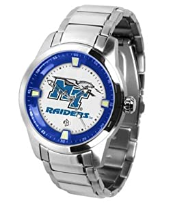 Middle Tennessee State MTSU Mens Stainless Steel Outdoor Watch by SunTime