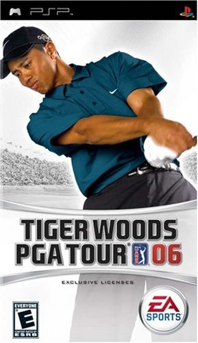 Tiger Woods PGA Tour 2006 - Sony PSP - 1