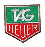 TAG Heuer formula 1 one F1 Logo Embroidered Iron or Sew on Patch by Wonder Fullmoon