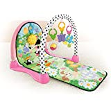 New!! Fisher Price Minnie Mouse Kick and Play Crawl Musical Activity Gym Play Mat