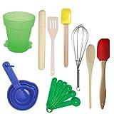 Sassafras Little Cook Children's Kitchen Tools in Herb Pot Gift Set